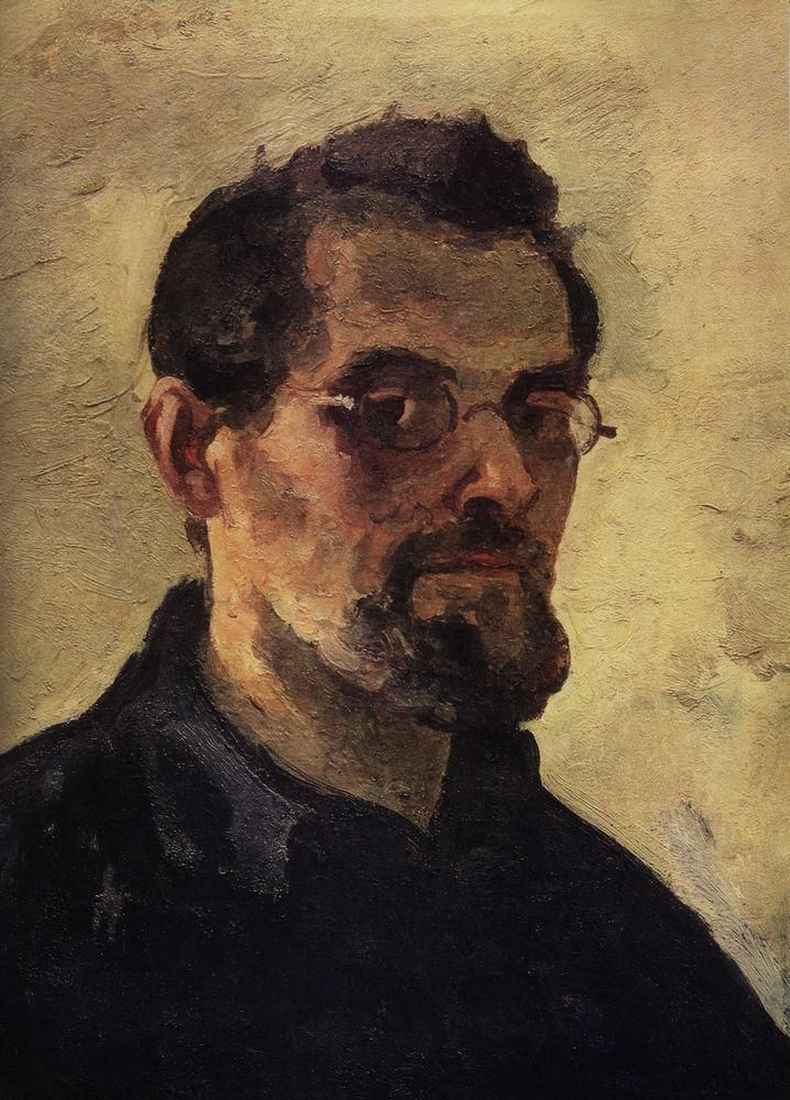 Aleksandr Kuprin . Self portrait