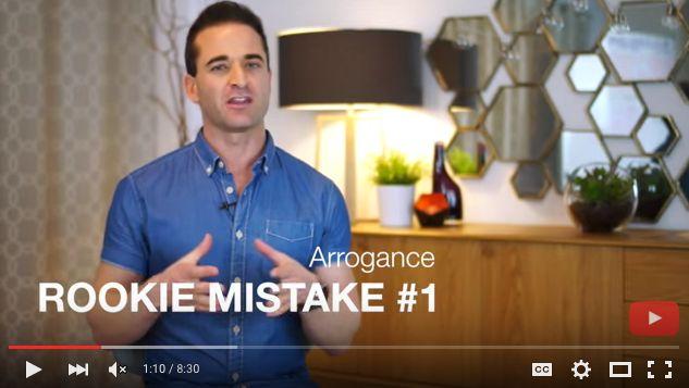 Ben Angel Video: The Top 3 Rookie Mistakes Start-Ups Should Avoid Like The Plague #marketing #entrepreneur #onlinecourse #socialmedia #startups