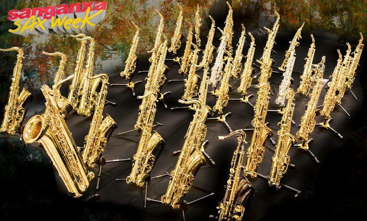¡Saxofones y más saxofones!
