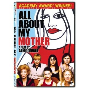 A 1999 Almodovar that somehow I didn't watch until now! Another in his exploration of secrets, family and living with tragedy. It does tie in All About Eve references as well as Streetcar in not so subtle ways but it worked for me! The layers of a person's life shine through with a less hectic pace than some of his other films... but Penelope Cruz as a nun and a transvestite with a pivotal role-- que bueno!