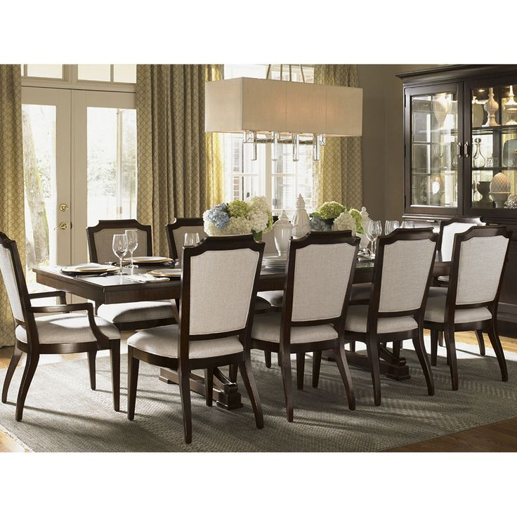 Shop For The Lexington Kensington Place Formal Dining Room Group At Belfort Furniture