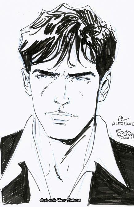 Dylan Dog - Bruno Brindisi Comic Art
