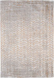 8929 Central Yellow - Mad Men Collection #rug #carpet #flatdown #flatweave #chenille #jacquard #woven #handfinished #copper #gold #silver #coppertone #flooring #madeinbelgium #madmen #louisdepoortere #white #glossy #glossycarpet #glossyrug