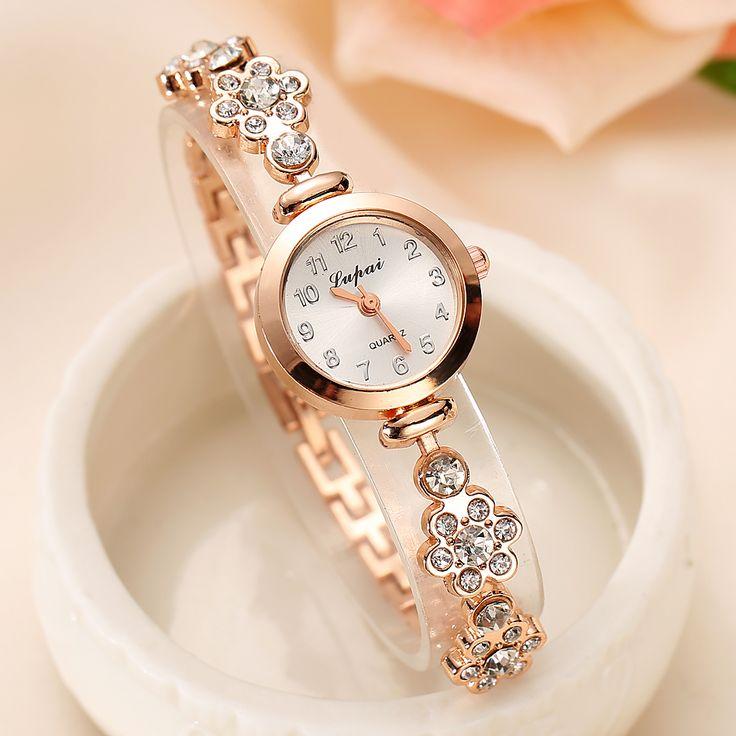 Lvpai 2016 Sommer Stil Gold Uhr Markenuhr Frauen Armbanduhr Damen Uhr Weibliche Armbanduhren Edelstahl Gold Uhren