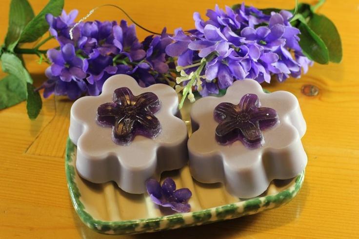 Lilac soaps  Jabones de lila