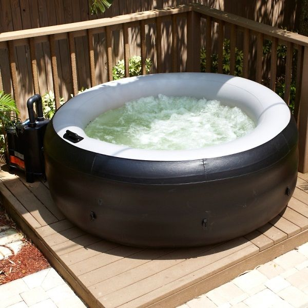 Portable Hot Tub.... Why don't we have one of these?!