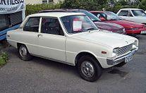 Mazda 1100: four wheels, four seats, forgotten.