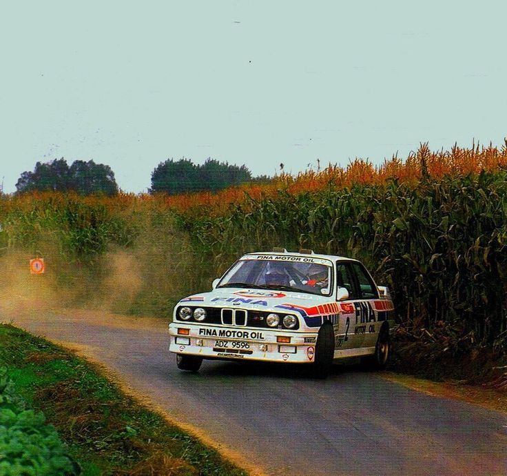 Marc Duez Sideways... BMW M3 E30