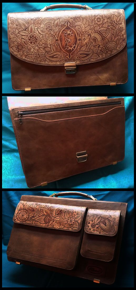 "Exclusive leather briefcase ""MEHNDI"" made by ""Furmani""/Эксклюзивный кожаный портфель ""МОНОГРАММА"", созданный ""Furmani"". See more on Facebook: https://www.facebook.com/groups/furmani/ Contacts for orders E-mail: furmani.exclusive@gmail.com Viber/Whatsapp: +380683835478  #furmani #leathergoods #mehndi #indianstyle #leatherbriefcase #womensbag #leather #leatherwork #style #styleoftheday #beauty #fashionable #кожаныйпортфель #сумка #кожа #работаскожей #стиль #мода #стильно #менди #индийскийстиль"