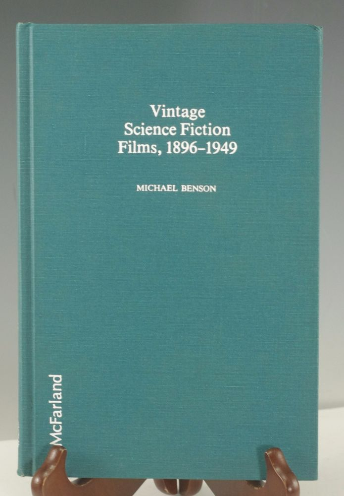 Vintage Science Fiction Films, 1896-1949 by Michael Benson (1985, Hardcover)