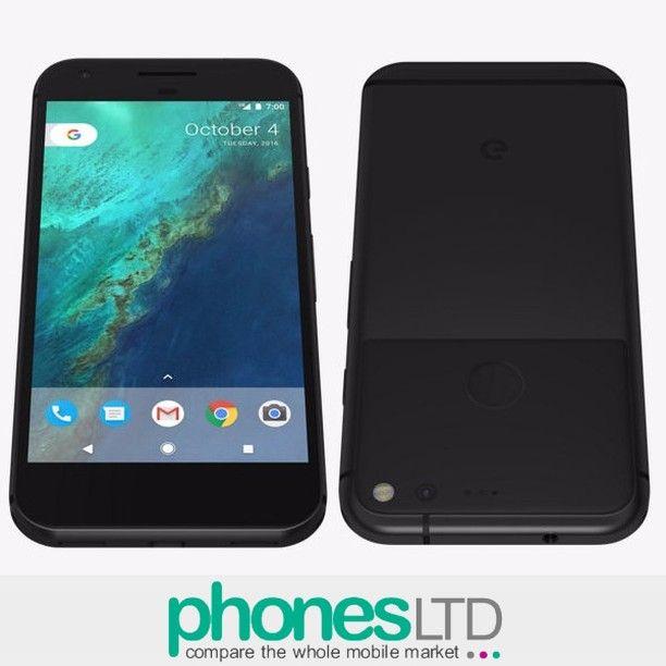 Pixel Phone by Google (Quite Black) - Compare the cheapest deals from all retailers & save at @phoneslimited (link in bio) #google #googlepixel #pixelphone #googlephone #pixelbygoogle #quiteblack #pixel #pixelblack #blackpixel #quiteblackpixel #pixelphoneblack #rawandroid #nakedandroid #googleassistant #fingerprintsensor #newgoogle #nomorenexus #nexusisdead #newgooglephone #googlepixelphone #instaphones #instafones #o2 #ee #vodafone #upgrades