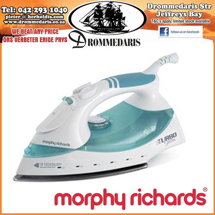 Fill in the gap! I like to _____________ while I iron. #Drommedaris are proud stockists of Morphy Richards products. #morphyrichards #housechores