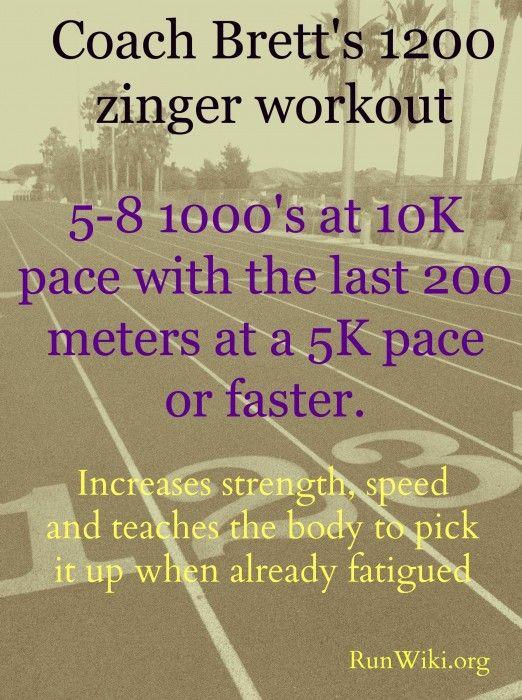 Coach Brett's Zinger Track Workout and Mizuno Wave Sayonara Review