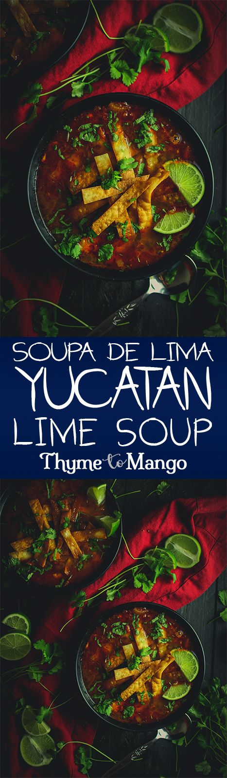 A little bit tangy, a little bit spicy, and a whole lot of delicious, this soup de lima (aka lime soup) is a kick-ass Yucatán dish!