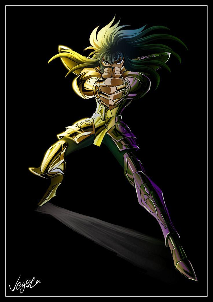 Camus de Acuario. Caballero Dorado. Saint Seiya.