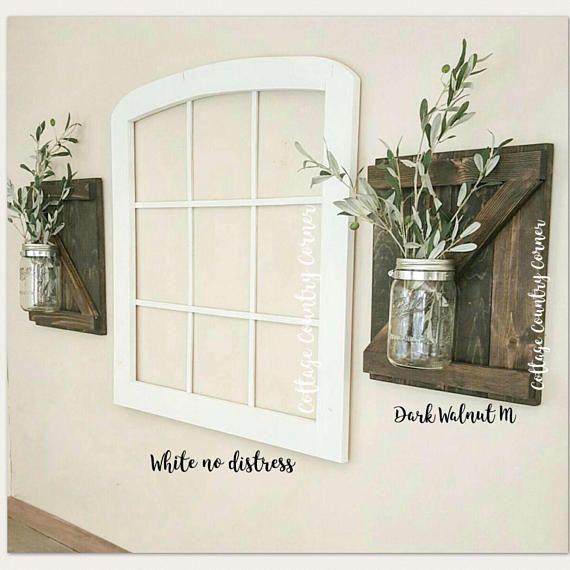 Arched Window Frame Window Frame Wall Decor Farmhouse Farmhouse Wall Decor Living Room Arched Wall Decor Window Frame Decor