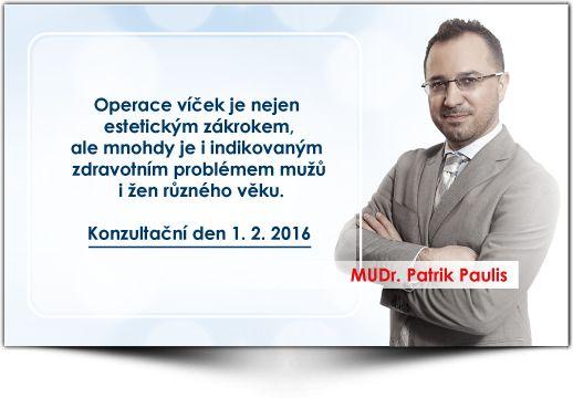 MUDr. Patrik Paulis - Medical Institut