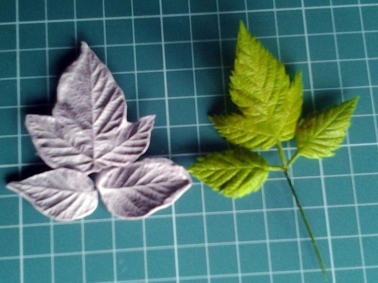 лепка лесных колокольчиков и разных листьев - Ярмарка Мастеров - ручная работа, handmade