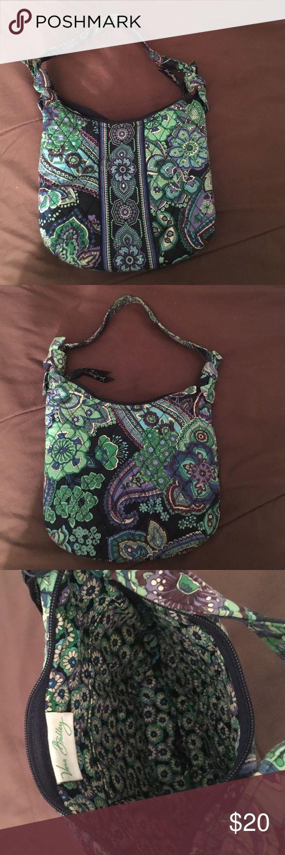 """Vera Bradley Mini Shoulder Bag Used Vera Bradley mini shoulder bag in """"Blue Rhapsody"""" in very good condition Vera Bradley Bags Shoulder Bags"""
