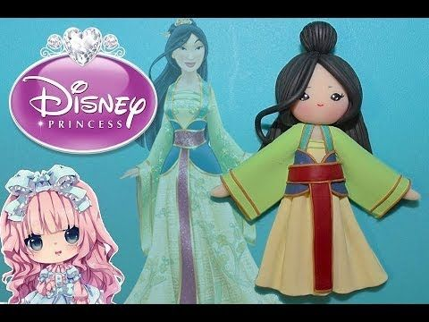 Mulan Chibi Tutorial♥ (DISNEY PRINCESSES SERIES)