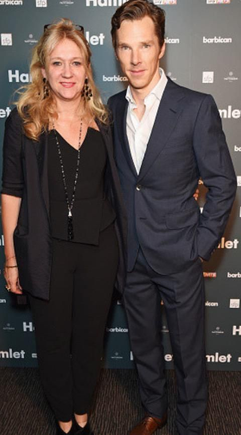 Benedict & Sonia Friedman at the Hamlet Opening Night After Party - 25th August 2015