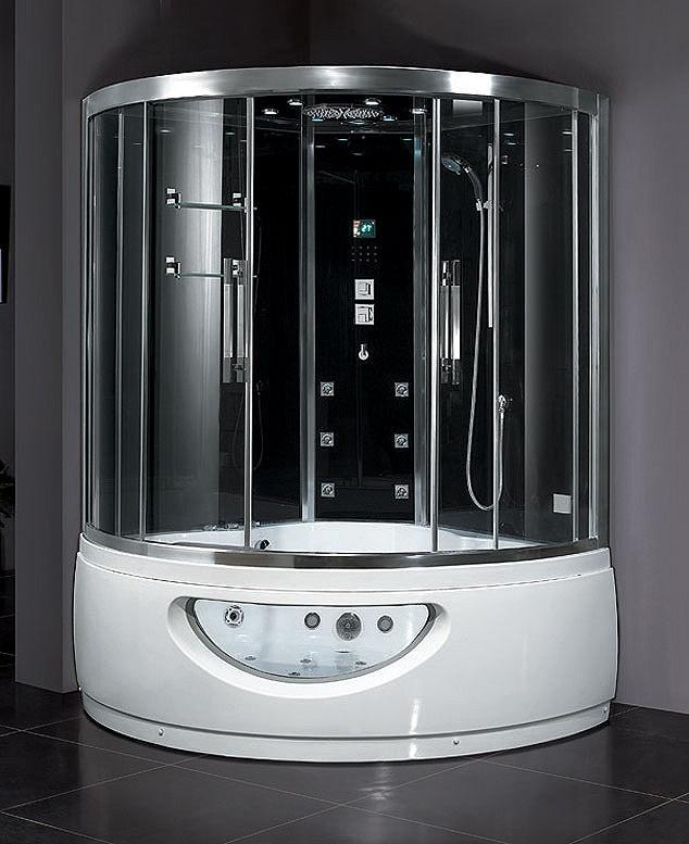 Best Tub Shower Combos Images On Pinterest Tub Shower Combo - Corner whirlpool tub shower combo