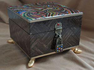 Декорирование шкатулки в стиле китч. Часть 3 | Ярмарка Мастеров - ручная работа, handmade
