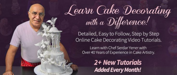 At Yeners Way Online Cake School you can signup to free tutorials and learn from the master Serdar Yener a 20 cake veteran.