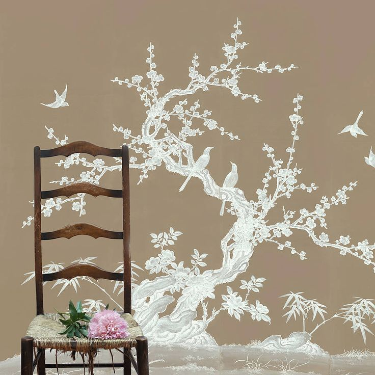 25 best ideas about oriental wallpaper on pinterest for Chinoiserie design