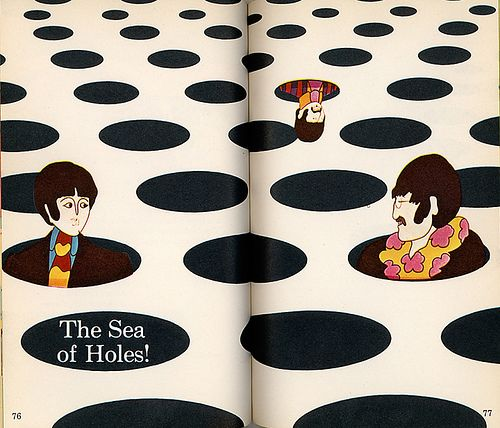 the sea of holes - cover heinz edelmann - 1968 - photo b caruthers