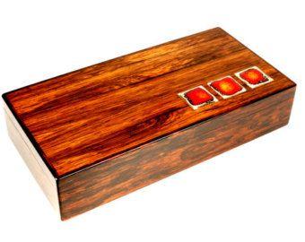 Alfred Klitgaard Brazilian rosewood box