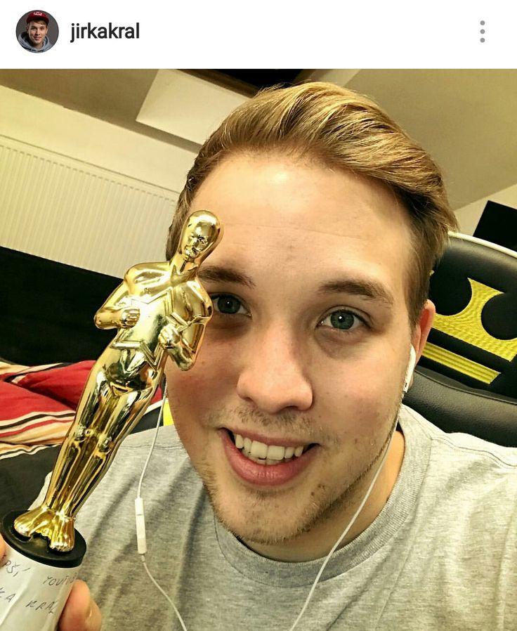 Nejen Leonadro Dicaprio má Oskara už ho má I Jirka nevím jestli je ze zlata ale má ho :D .
