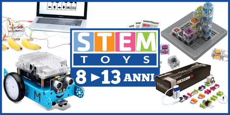 Giocattoli tencnologici e STEM toys per ragazzi di 8-13 anni, ecco i più interessanti Giocattoli STEM incoraggiano i ragazzi ad esplorare la tecnologia in modo creativo, a sviluppare le loro capacità nell'ambito delle discipline STEM e che li spingono ad utilizzare in modo positivo e  #giocattoli