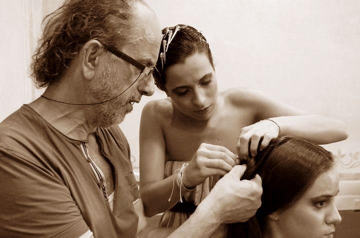 #parrucchieri #montanucci #Acconciatori #all'opera #acconciatura d'epoca www.duostylist.it