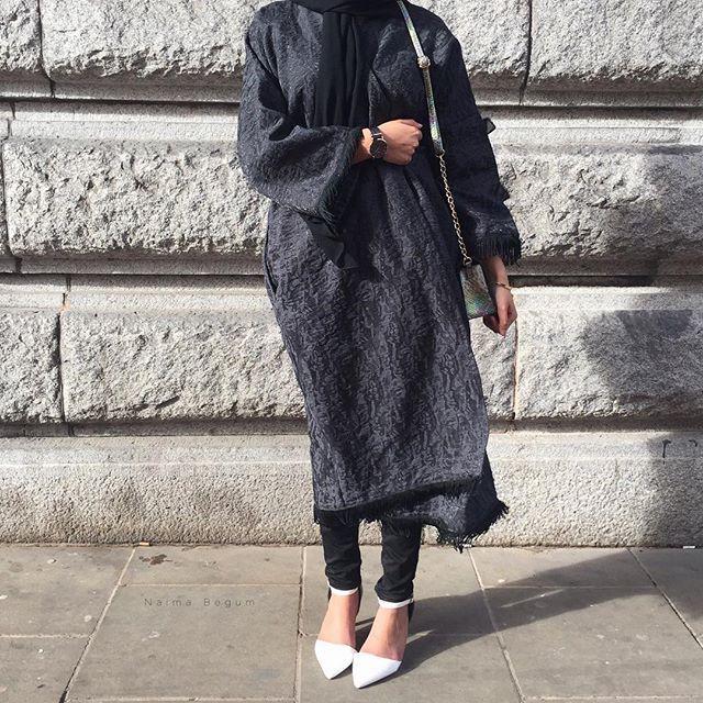 @naimabegum_ Abaya Coat | @yasmin_goragardee /Amaliah.co.uk