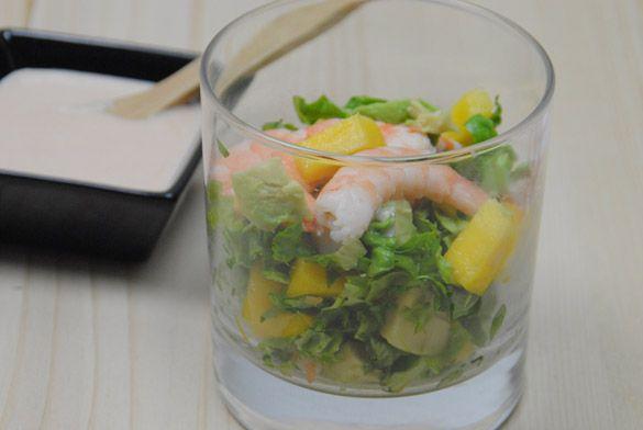 Receta de c ctel de mariscos f cil con cinco ingredientes todo un xito para las fiestas - Coctel de marisco ingredientes ...