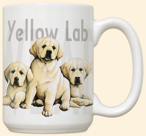 Yellow Lab Puppies Mug