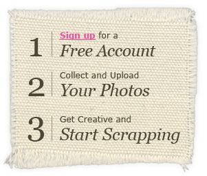 cropmom.com. upload photos and make scrapbook pages. print at home or upload to a photo lab!