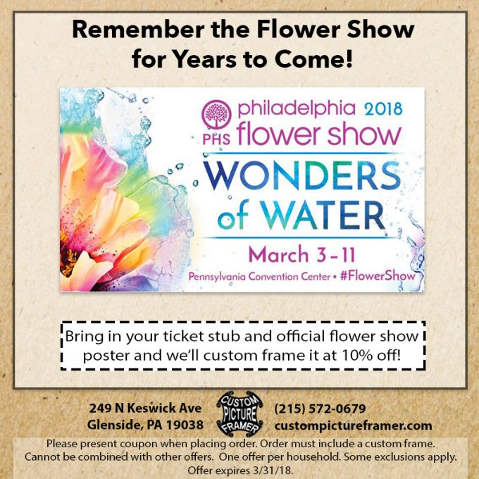 Five Advantages Of Philadelphia Flower Show Ticket Coupons