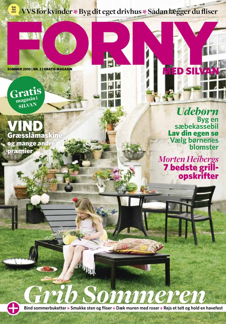FORNY med Silvan, magasin nummer 2, sommer 2010