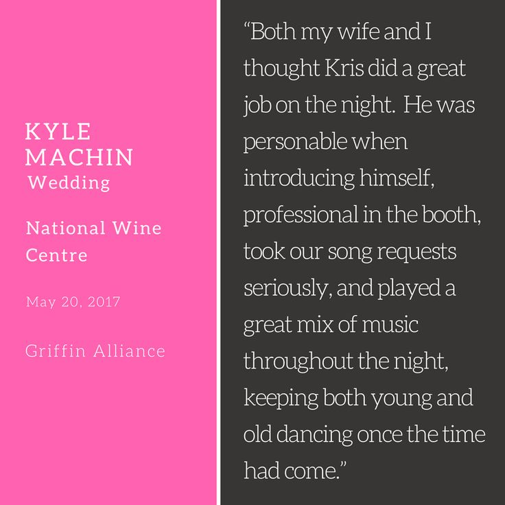 Wonderful to get feedback for one of the awesome wedding from groom Kyle Machin at National Wine Centre from 20/05/2017 #griffinalliance #weddingdj #weddingsadelaide #adelaidewedding #dancefloor #adelaideweddingdj #Kyle #KyleMachin #KyleMachinWedding #NationalWineCentre #romanticwedding #Kris #KrisOShaughnessy #vintagewedding #melbourneweddinggroup