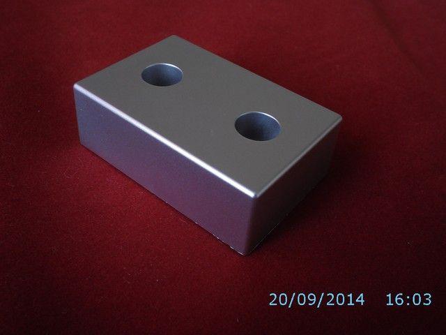 Stopka Meblowa 7.154 chrom matowy, aluminium