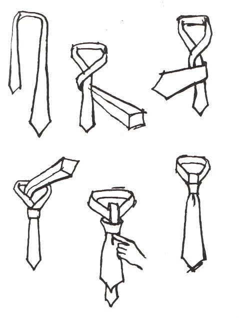Bijou Living | Blog: How To Tie A Skinny Tie (even I could figure this one out. )