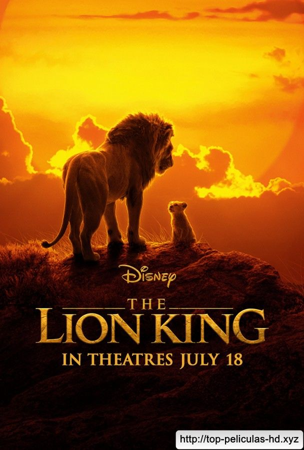 A1 A4 available A2 A3 The Lion King Vintage Movie Poster