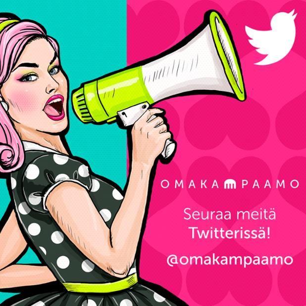 Huomasitko meidät myös Twitterissä? #omakampaamo #twitter #twiit #follow #followus #salonki #kampaaja #kosmetologi #kynsitaiteilija #hiukset #kynnet #liiketoiminta #some #palvelu #huippupalvelu Katso lisää osoitteessa www.omakampaamo.fi