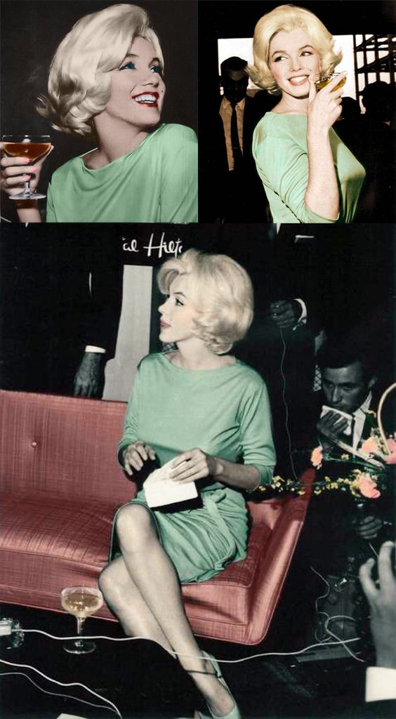 Marilyn in Mexico, 1962. May 6th, two months before her death. M is wearing her favorite Emilio Pucci dress,  she was buried in this dress.