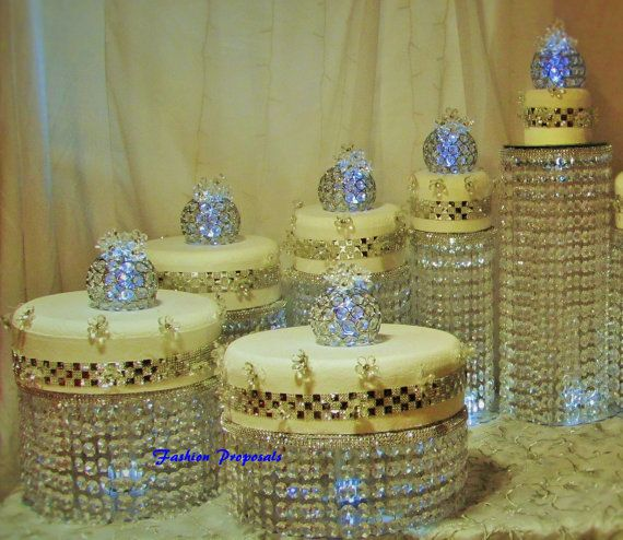 Waterfall Cake Stand