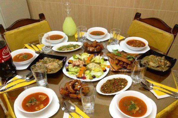 المائدة الجزائرية في رمضان