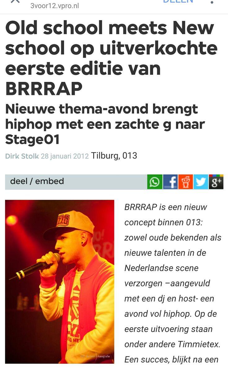 3voor12 recensie: Brrrap #1, 013 Tilburg