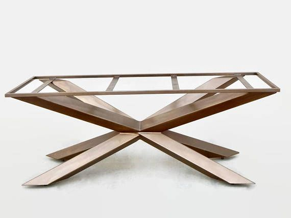 Bespoke Dining Table Metal Table Base Conference Table